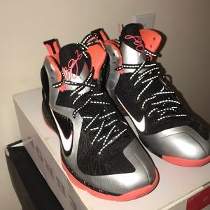 "the best attitude 2e866 88967 Nike Shoes - Lebron 9 ""Mango"""